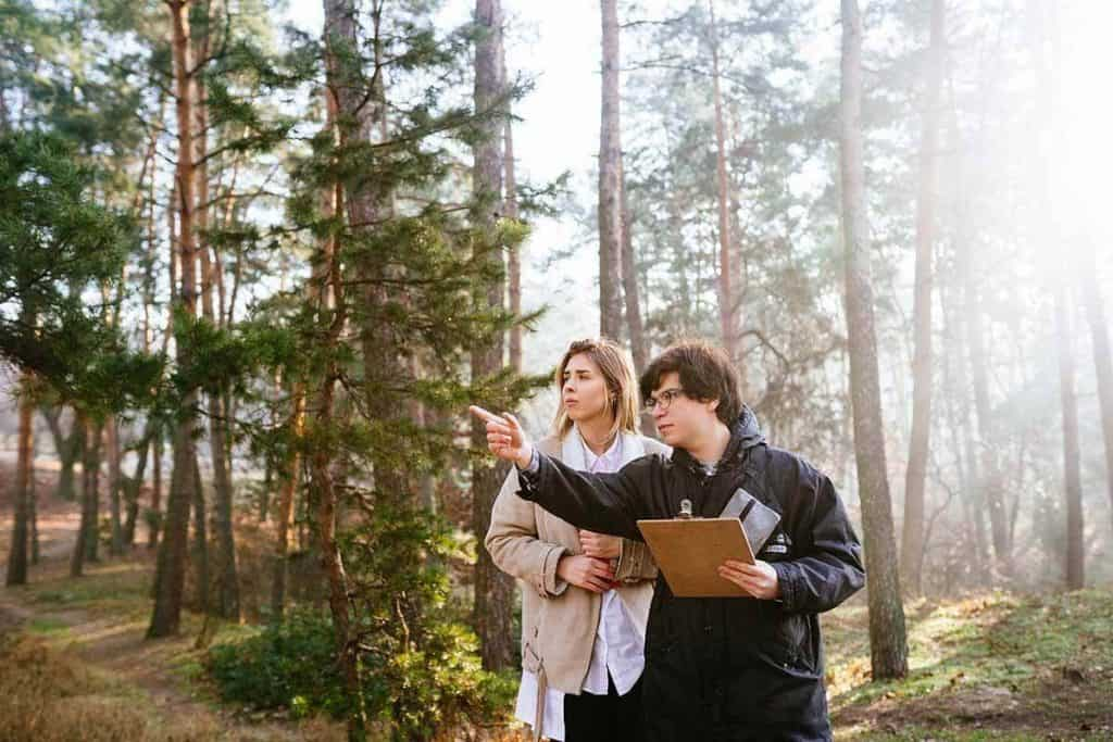 scientists-are-studying-plant-species-inspect-trees-forest-Environmental-Science